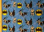 Batman logo DC Comics superhero dark knight - Fabric - Price Per Metre
